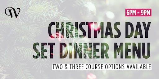 Christmas Day Set Dinner