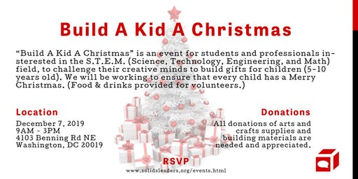 S.O.L.I.D.S. 6th Annual Build A Kid A Christmas