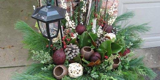 Outdoor Pot Design Workshop - Nov. 17