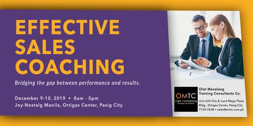 Effective Sales Coaching