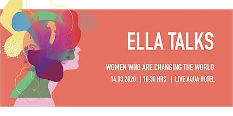 ELLA Talks boletos
