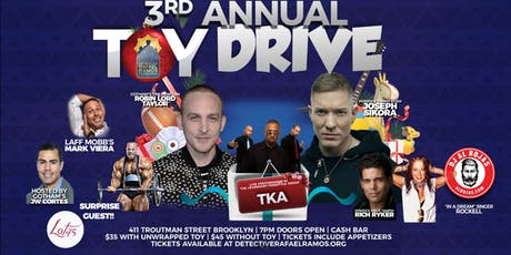 The Detective Rafael Ramos Foundation Annual Toy Drive Fundraiser tickets
