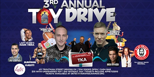 The Detective Rafael Ramos Foundation Annual Toy Drive Fundraiser