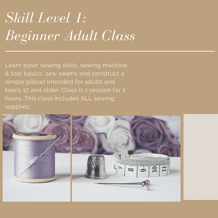 Sew Ready with Lecretia of Dawning Day Creations-Level 1 image