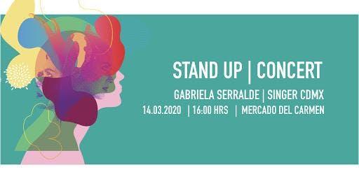 Show de Stand Up por Gabriela Serralde