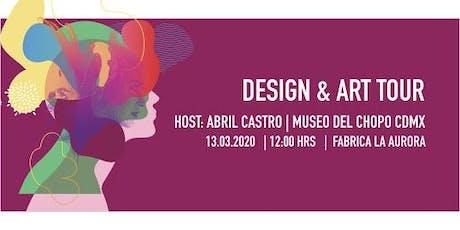 Tour de Arte y Diseño en La Aurora boletos