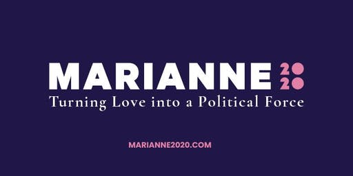 Community Forum with Presidential Candidate Marianne Williamson