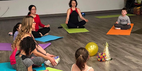 Kids & Family Yoga tickets