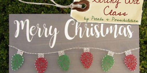 String Art Class - Christmas at The Village