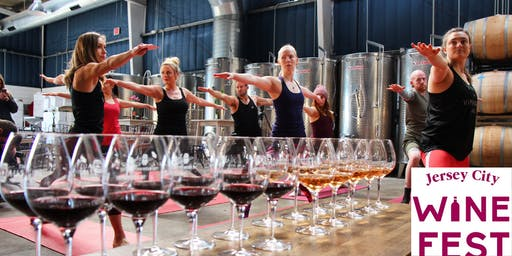 Vino Vinyasa AND Jersey City Wine Fest