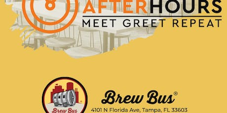 Networking After Hours @Brew Bus tickets