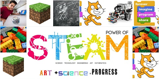 STEAM Lab, Ages 6-12 FREE