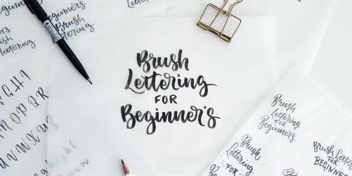 Beginner's Brush Lettering Workshop: Wotso, Sunshine Coast
