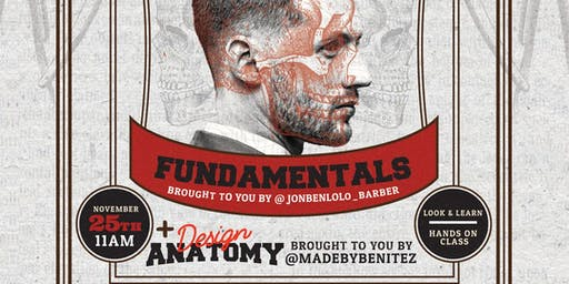 HAIR.ANATOMY Presents FUNDAMENTALS & DESIGN ANATOMY MONTREAL