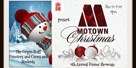 The Origin Presents A Magical Motown Christmas Dinner Showcase tickets