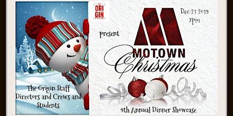 The Origin Presents A Magical Motown Christmas Dinner Showcase tickets