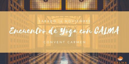 Encuentro de Yoga con CALMA Valencia
