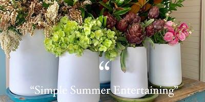 Cooking Workshop - Simple Summer Entertaining