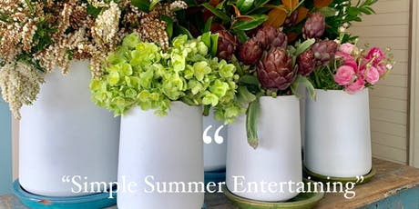 Cooking Workshop - Simple Summer Entertaining tickets