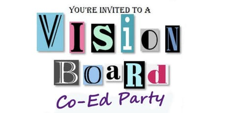 Sip and Inspire Co-Ed Vision Board Party tickets