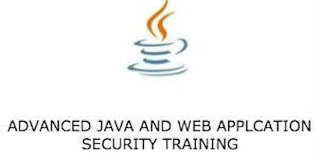 Advanced Java and Web Application Security 3 Days Training in Denver, CO tickets