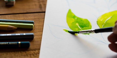 Get Crafty - Floral Watercolor Workshop tickets