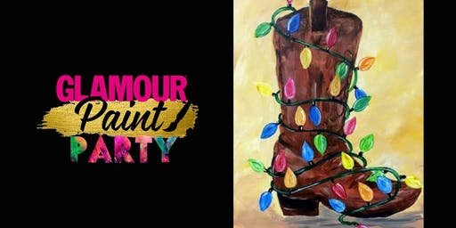 Holiday Paint Night Hosted By Glamour Paint Party