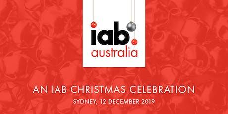 IAB Christmas Drinks tickets