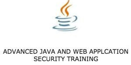 Advanced Java and Web Application Security 3 Days Virtual Live Training in United States tickets