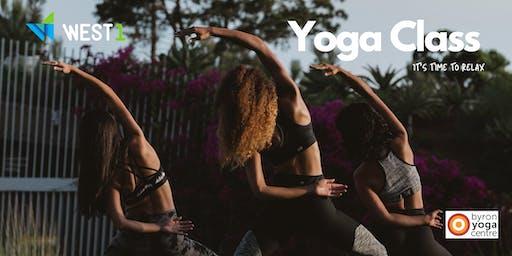 Yoga Class no Parque