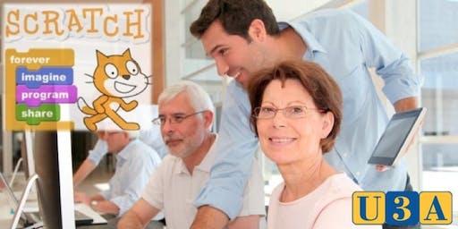 Creative Computing for Seniors workshop (using Scratch 3.0)