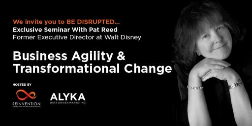 EXCLUSIVE SEMINAR: Business Agility and Transformational Change