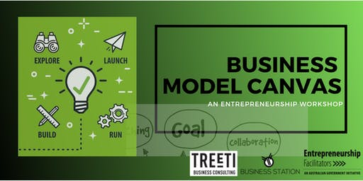 Map out your business plan with Business Model Canvassing; Entrepreneurs Work Group- Special Guest Christine Smith - November 2019
