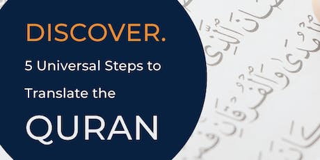 Brisbane! 5 Universal Steps to Translate the Quran tickets
