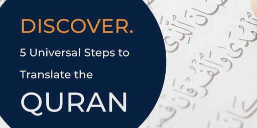 Brisbane! 5 Universal Steps to Translate the Quran
