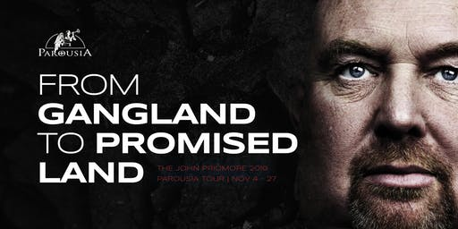 JOHN PRIDMORE: 'Gangland to Promised Land' talk at Guardians, Punchbowl