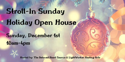Stroll-In Sunday - Holiday Open House