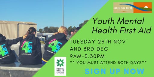 Youth Mental Health First Aid - Live4Life