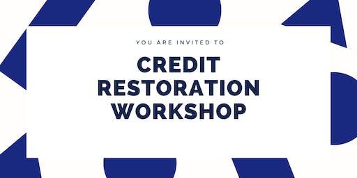 Credit Restoration Workshop