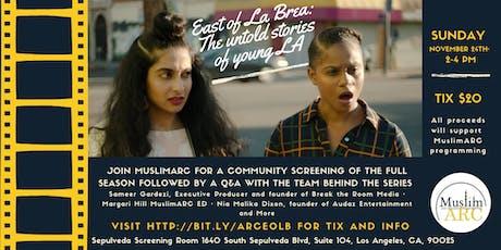 East of La Brea Screening: The Untold Stories of Young LA tickets