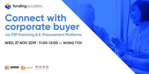 Connect with Corporate Buyers via P2P Financing & E-Procurement Platforms