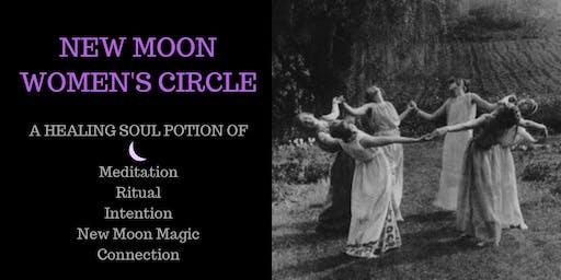 NEW MOON - Women's Circle - 25th November 2019