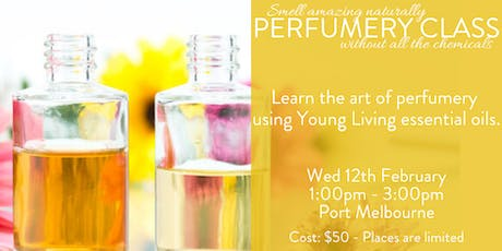 Make your own perfume with Young Living essential oils tickets