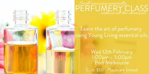 Make your own perfume with Young Living essential oils