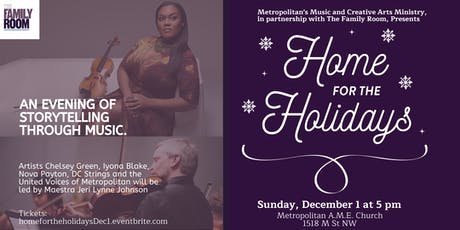 Home for the Holidays: An evening of storytelling through music tickets