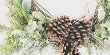 Wine & Design - Winter Wreath