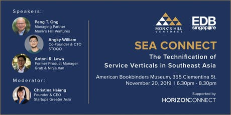 [SEA Connect] The Technification of Service Verticals in Southeast Asia tickets
