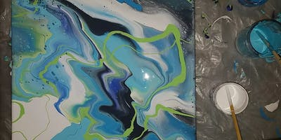 Fluid Painting at the Winery