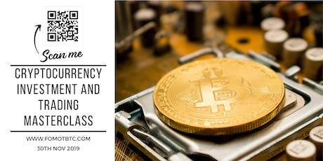 Cryptocurrency Investment and  Trading Masterclass tickets