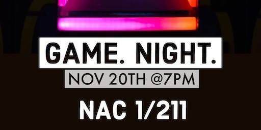 First Love CCNY - GAME NIGHT